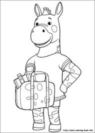 babar adventures badou coloring picture themed