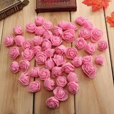 Wedding Home Decoration Aliexpress Com Buy 100pcs Bag 3cm Pe Foam Rose Handmade Diy