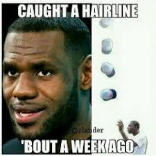 Rap Music Meme - exif lebron lebronhairline shmurda shmoney hairline hair
