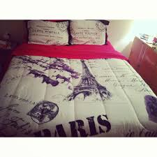 Paris Theme Bedroom Ideas Bedroom Design Red Paris Themed Bedroom With Red Bedding And Many