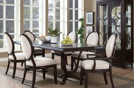 Round Dining Room Table For 6 Uncategorized Beautiful Black Dining Room Sets Stunning Dinning