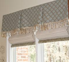 Roman Shade With Curtains Fancy Roman Shades Fancy Roman Shades With Valance And Flat Roman