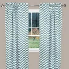 Chevron Pattern Curtain Panels Herringbone Grommet Top Window Curtain Panel Window Curtains