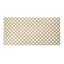 0 5 in x 48 in x 8 ft pressure treated wood lattice 106026