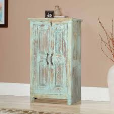 Amish End Tables by Reclaimed Wood Small Storage Cabinet End Table With 2 Doors