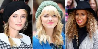 on the go hairstyles hairstyles to wear with hats cute hats and hairstyles