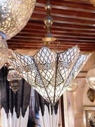 Moroccan Pendant Light Moroccan Pendant Lamp Light Umbrella Shape With Fine Ciseled
