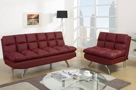 red leather twin size sofa bed steal a sofa furniture outlet los