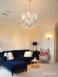 Navy Living Room Furniture Uncategorized Furniture Intriguing Navy Blue Sectional Tufted