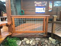 hog fence deck railing design u2014 railing stairs and kitchen design