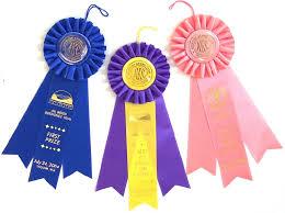 dog ribbon sle rosettes olympic ribbonart