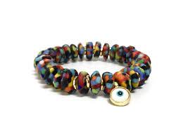 multi bracelet images Capri black multi bracelet eye of the sea jpg