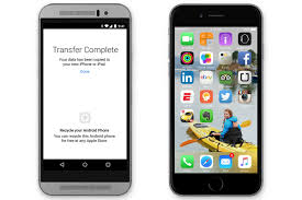 how to transfer apps from iphone to android apple made an android app that helps switch to ios the verge