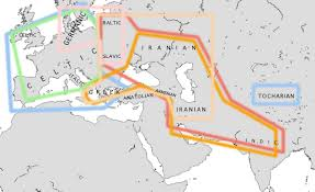 Indo European Language Map by Indo European Migrations And Aryan Invasions Of India Maps And