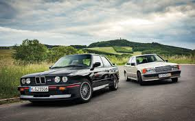 mercedes vs bmw ads mercedes benz 190e 2 3 16 vs e30 bmw m3 motor trend classic