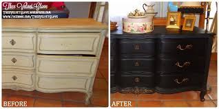 black u0026 gold vintage henredon u2013 9 drawer serpentine dresser