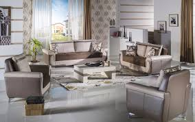 Istikbal Living Room Sets Lima S Convertible Living Room Set In Best Brown By Istikbal