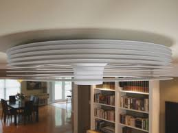 Ceiling Hugger Fans With Lights Lowes Inspirations Unique Enclosed Ceiling Fan With Drum Style Frame