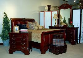 bedroom classic contemporary mahogany finished wooden queen