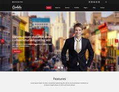 intensely u2013 free bootstrap corporate business website template