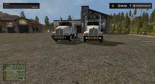 2016 kenworth t600 fs17 kenworth t600 oversize load and led lights farming