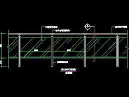 railing autocad drawings cad blocks and online autocad classes