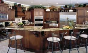 concrete countertops decorating ideas for above kitchen cabinets
