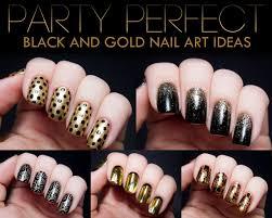 black nail design ideas image collections nail art designs
