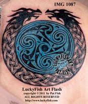 celtic dragon tattoos u2013 luckyfish art