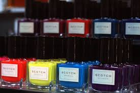 blogger project scotch naturals nail polish m i s s