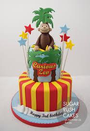 curious george cakes curious george cake sugar cakes montreal