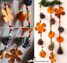 wonderful diy orange peel ornaments