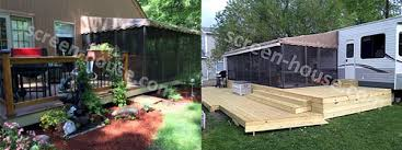 Patio Enclosure Kits Walls Only A Screen Porch Kit Is A Great Way To Make A Porch Enclosure