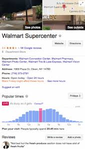 walmart open time black friday google rolls out real time popular times u2013 what can we learn