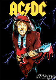 Angus Young Halloween Costume Angus Young Bon Scott Ac Dc Description