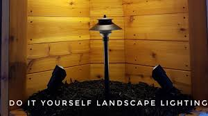 How To Do Landscape Lighting - do it yourself landscape lighting how to install landscape