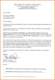 templates for scholarship awards template scholarship award letter template