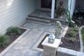 Small Patio Designs With Pavers Amazing Of Front Yard Pavers Block Paving Designs Small Garden