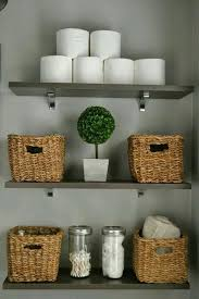 Bathroom Decorative Ideas by Best 25 Basket Bathroom Storage Ideas On Pinterest Bathroom