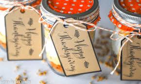 pumpkin cheesecake parfait free printable thanksgiving tags