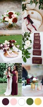 wedding colors the stunning colors of white burgundy wedding burgundy wedding colors stylish wedd blog