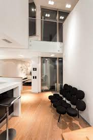 modern interior design with architectural character and high tech