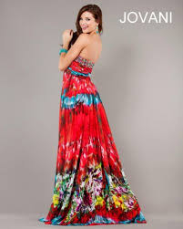 tie dye wedding dress jovani tie dye print evening dress 6768 novelty