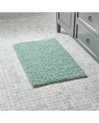 surprise 23 off crate u0026barrel loop seafoam green bath rug bath