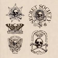 initial sketch ideas for the secret society cigars brand