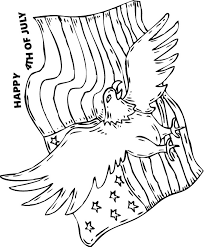 us flag coloring pages bald eagle and us flag coloring pages hellokids com
