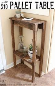 Free Woodworking Plans Small End Table by Makeover Monday Small X End Table Free Plans Home Diy