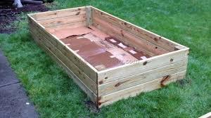 Building A Vegetable Garden Box by Inexpensive Raised Garden Bed Ideas Cadagu Com Gardening