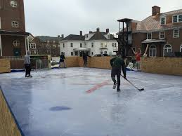 heorot built an ice rink just outside of their house