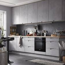 cuisine chez leroy merlin meuble de cuisine décor béton delinia berlin leroy merlin home